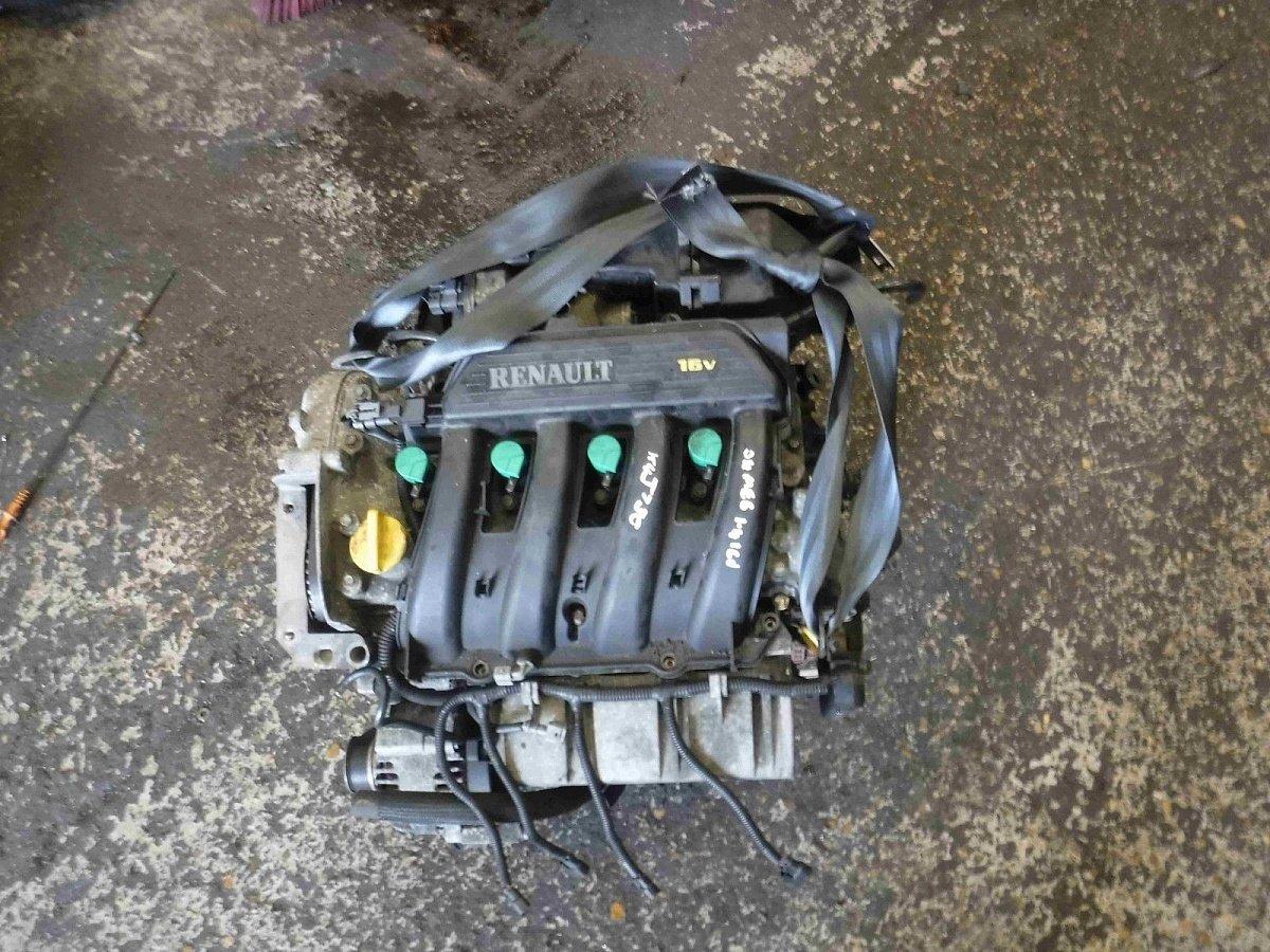 Контрактный двигатель для рено сценик